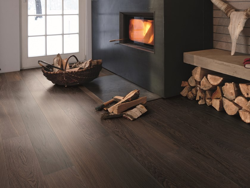 Oak Parquet STONEWASHED OAK STONE By BOEN