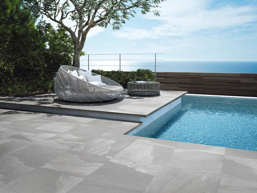 Porcelain stoneware outdoor floor tiles STONEWORK  T20 by Supergres