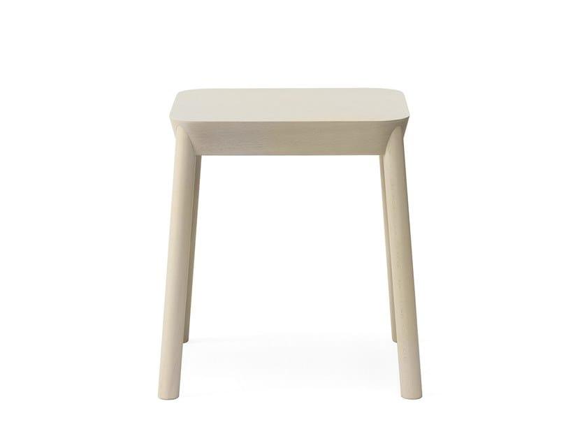 Beech stool DRUM | Stool by BILLIANI