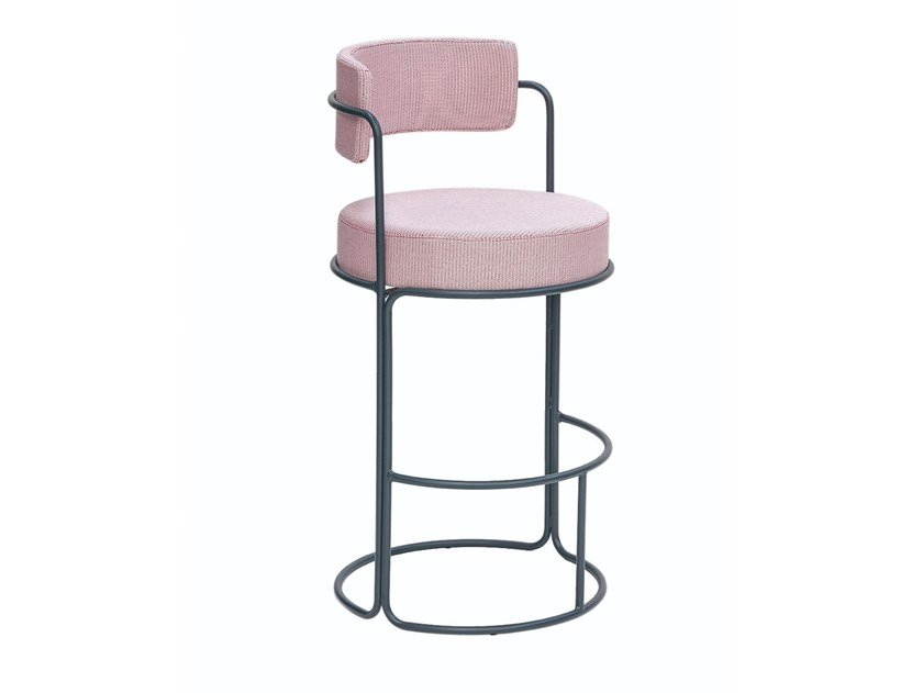 High stool with back PARADISO | Stool by iSimar