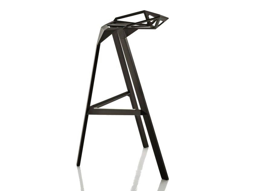 Aluminium stool STOOL ONE by Magis
