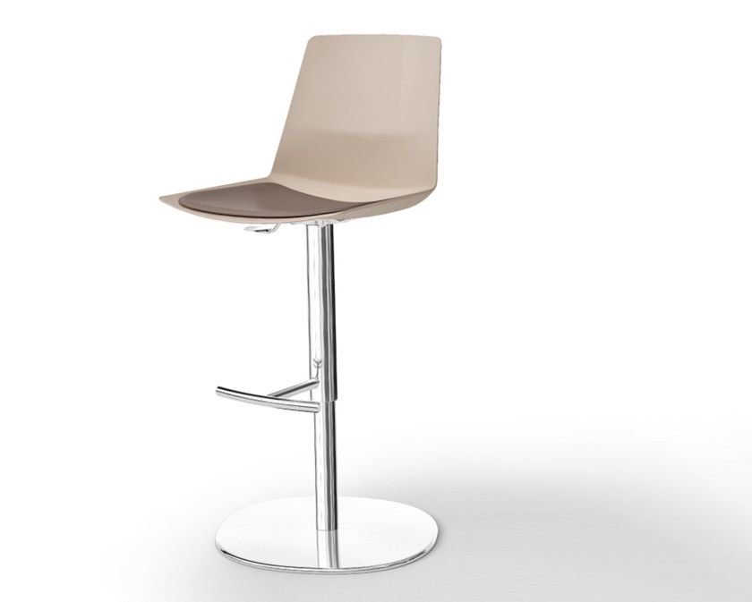Contemporary style plastic barstool CLUE | Stool by Quadrifoglio