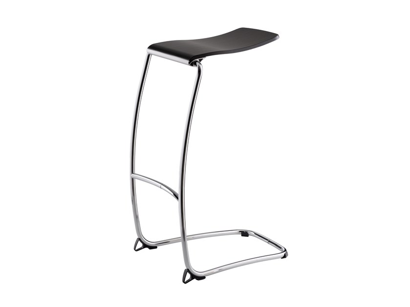 Cantilever high stool STRESEMANN CO 05 by rosconi