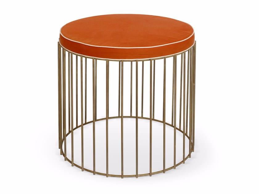 Metal stool GABBIA | Stool by SOFTHOUSE