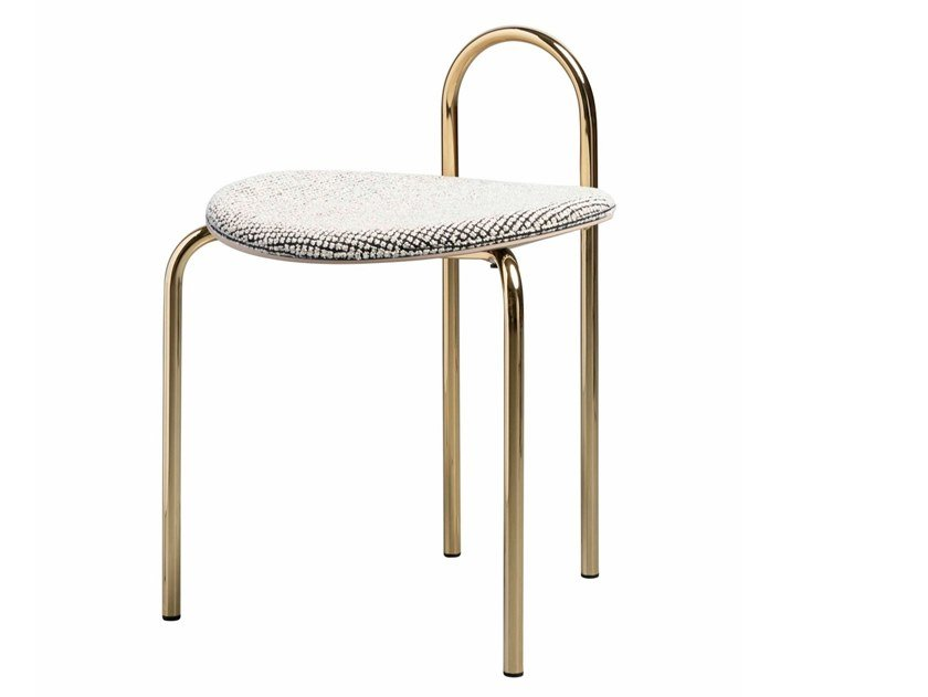 Low upholstered stool MICHELLE | Upholstered stool by SP01