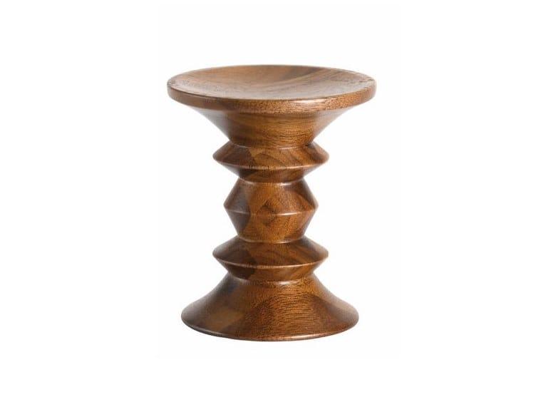 Banqueta / mesa de centro de madeira STOOLS A by Vitra