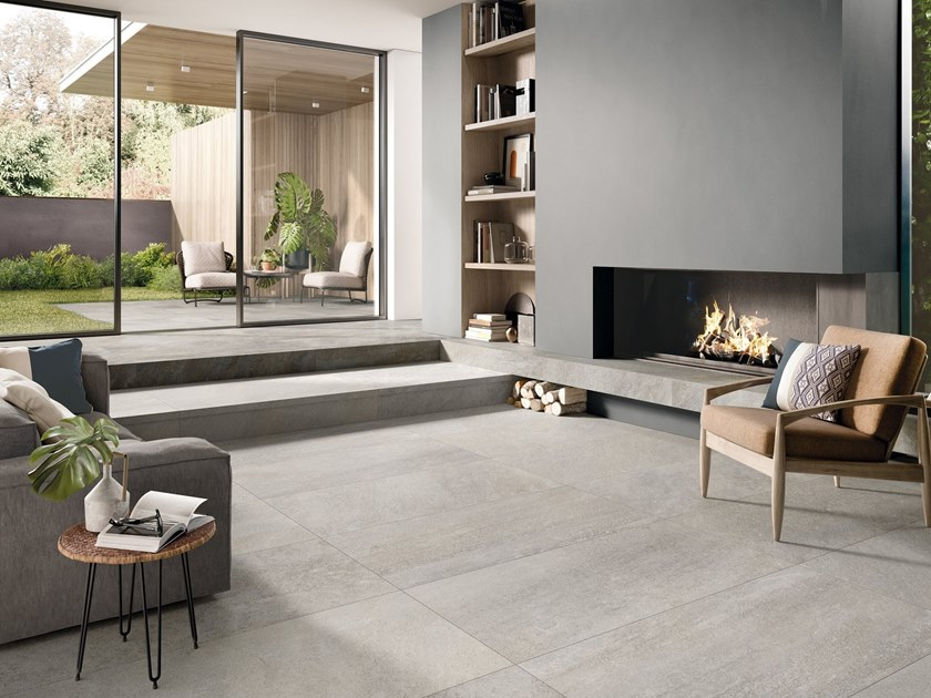 Porcelain stoneware wall/floor tiles with stone effect STOORM by Supergres