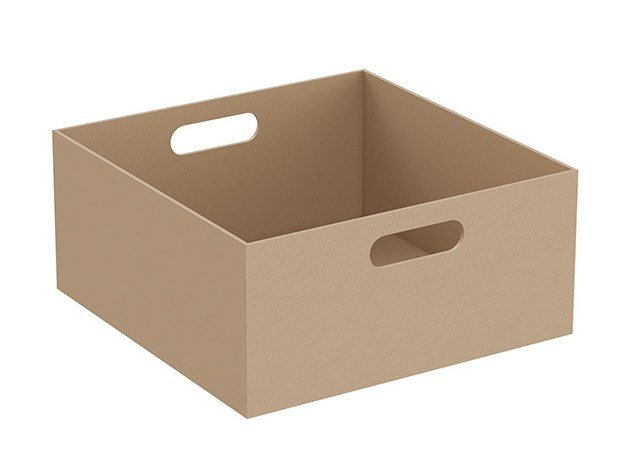 Leather storage box EQUAL | Storage box by VitrA Bathrooms