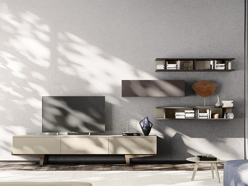 Sectional storage wall HOLDY | Storage wall by JESSE
