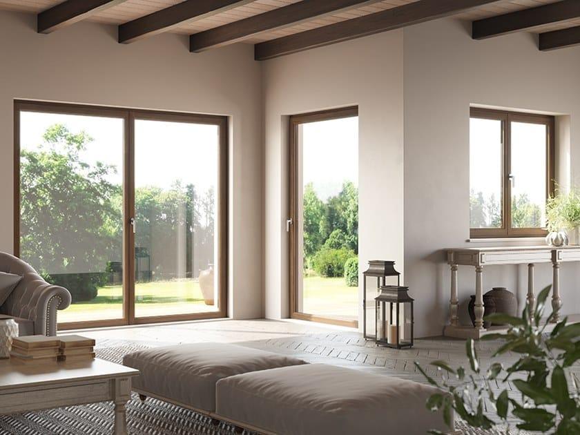 Wooden patio door STORICA by BG legno