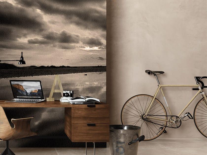 Panoramic landscape wallpaper STORM by Mat&Mat