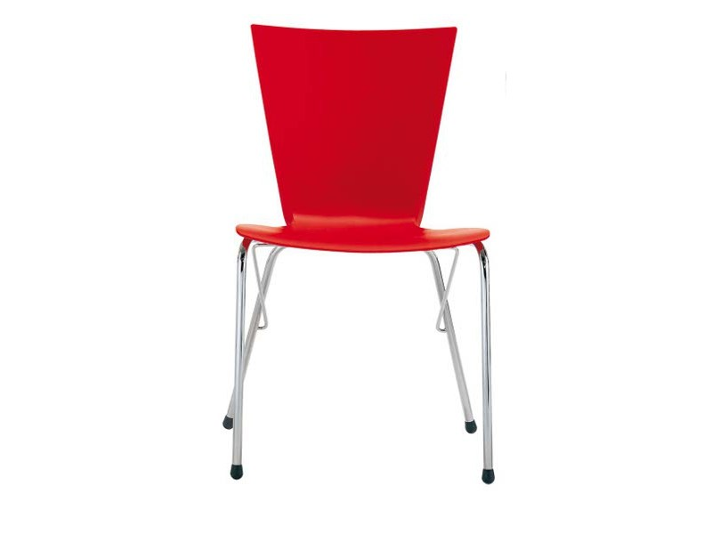 Stackable chair STORM S0527 by Segis