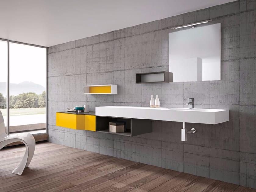 Vanity unit / washbasin STR8 - 04 by Gruppo Geromin