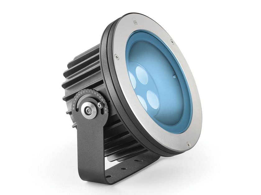 LED RGB adjustable aluminium Outdoor floodlight Stra P 5.0 by L&L Luce&Light