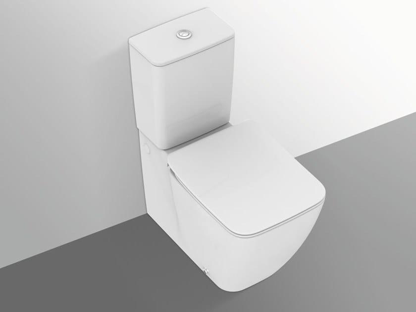 WC monobloc en céramique à bride ouverte STRADA II - T2926 by Ideal Standard