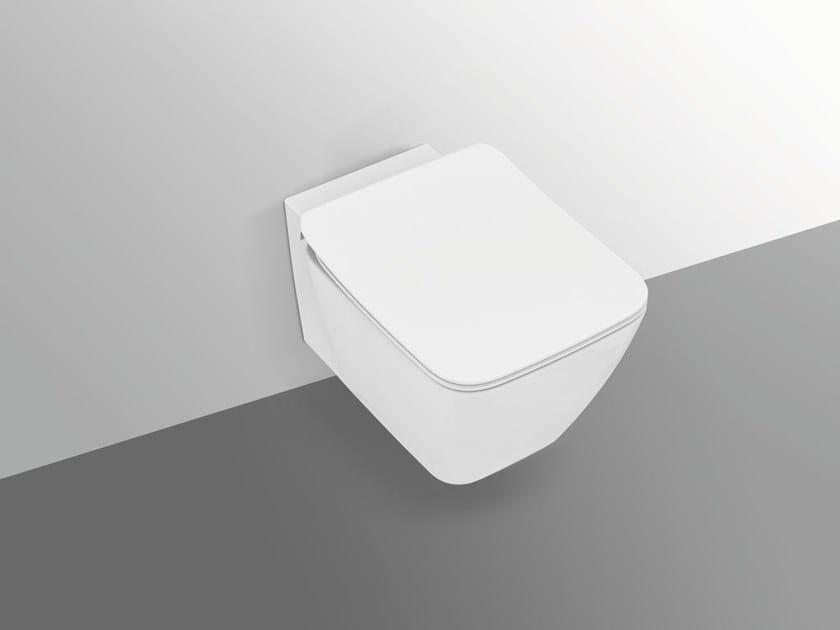 Ideal Standard Toilet : Wall hung rimless ceramic toilet strada ii t3597 strada ii