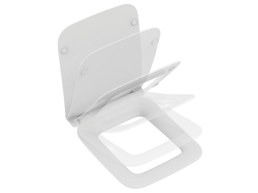 Ideal Standard Toilet : Toilet seat with soft close strada ii t3601 strada ii collection