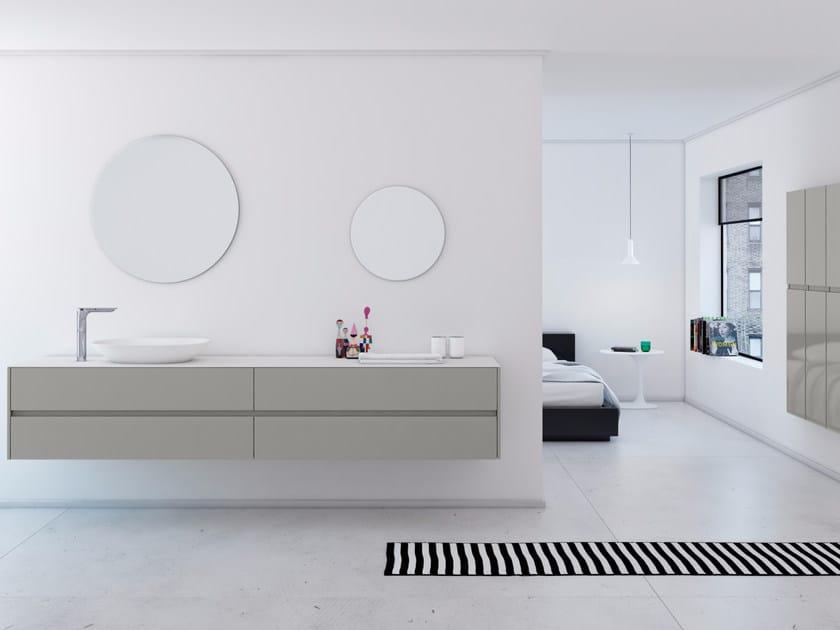 Bathroom furniture set STRATO 21 by INBANI