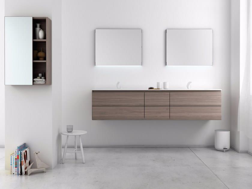 Bathroom furniture set STRATO 22 by INBANI