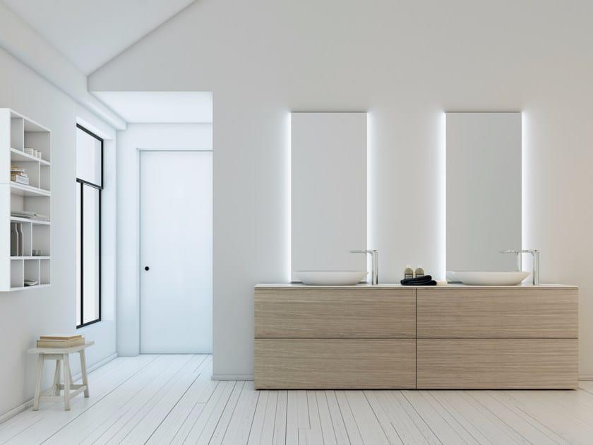 Bathroom furniture set STRATO 23 by INBANI