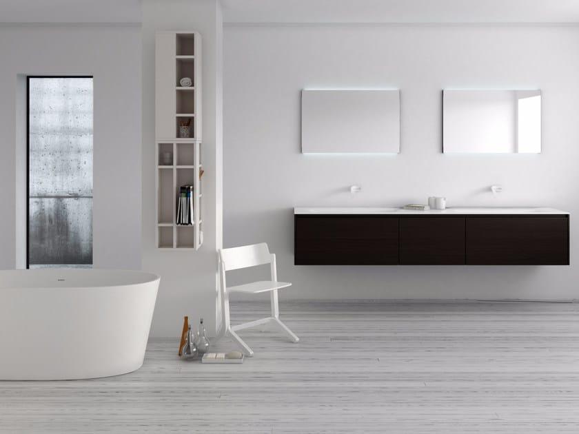 Bathroom furniture set STRATO 24 by INBANI
