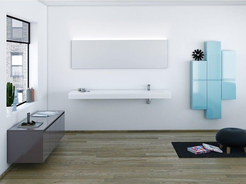 Bathroom furniture set STRATO 16 by INBANI