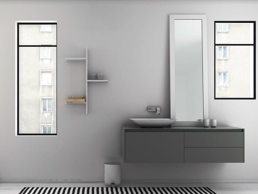 Countertop framed mirror STRATO | Countertop mirror by INBANI
