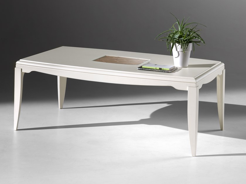 Rectangular wooden coffee table STREET | Coffee table by MOLETTA