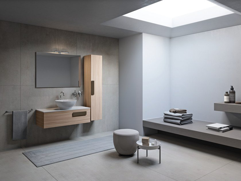 Sectional vanity unit STREET by INDA®