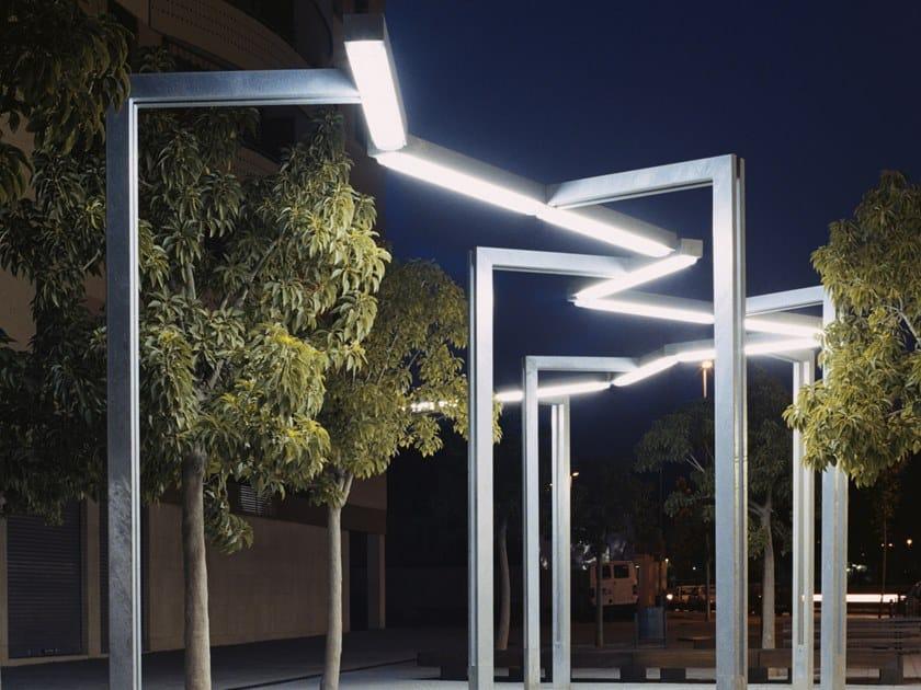 Lampione stradale a LED in acciaio zincato VÍA LÁCTEA | Lampione stradale by URBIDERMIS