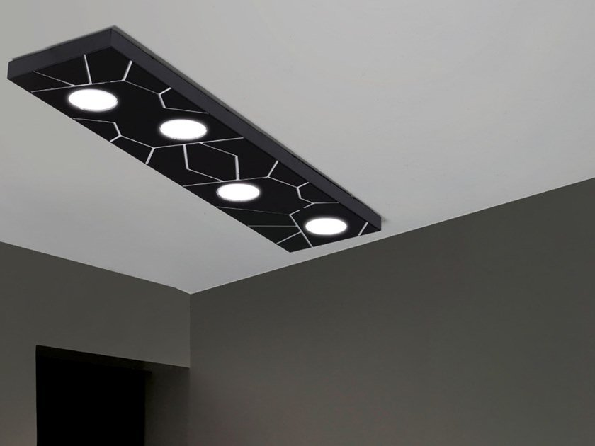 Modular ceiling light STREET SYSTEM | Ceiling light by Cattaneo