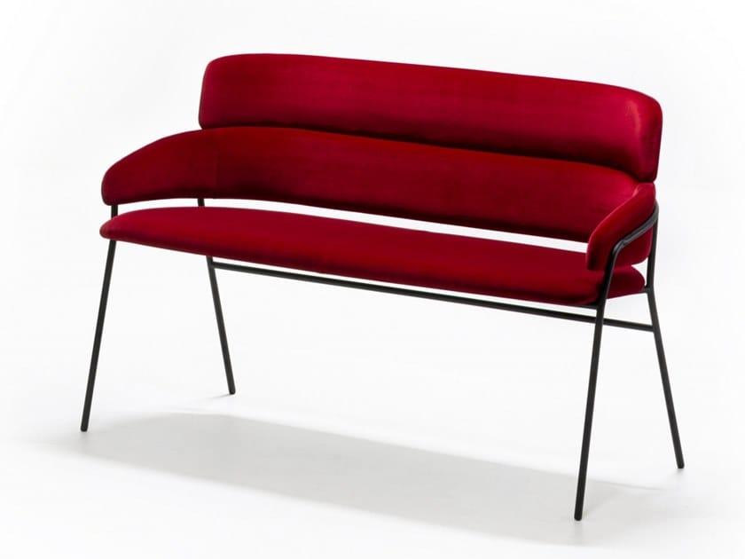 Fabric small sofa STRIKE SO by arrmet
