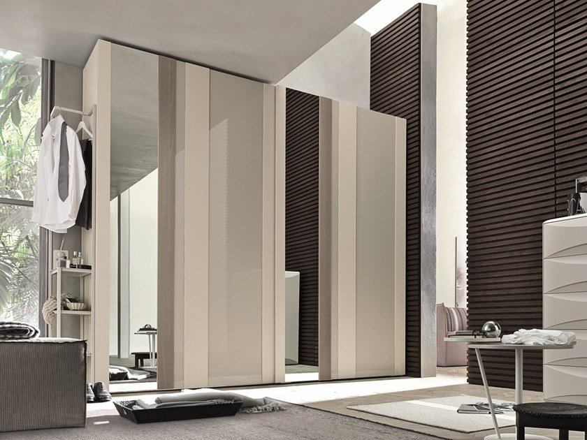 Wardrobe with sliding doors STRIKE | Wardrobe with sliding doors by Gruppo Tomasella