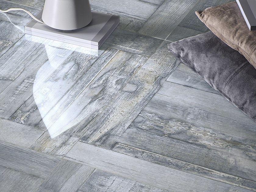 Pavimento in gres porcellanato effetto legno STRILING GLAMIS by La Fabbrica