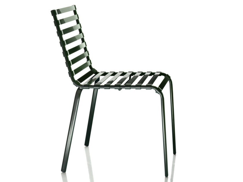 Stackable chair STRIPED | Chair by Magis