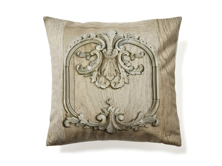 Square cushion STRIPPED LOUIS XV PANELLING by Koziel