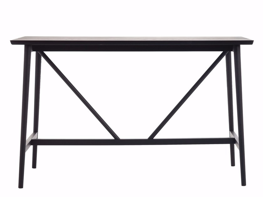 Rectangular ash high table STUBE | High table by Cizeta L'Abbate