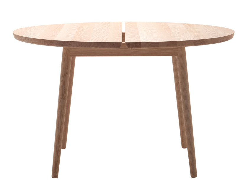 Round ash table STUBE | Round table by Cizeta L'Abbate