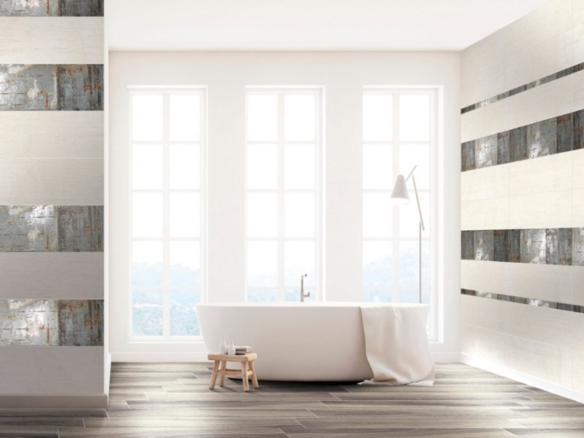 White-paste wall tiles STUCCO by CERAMICHE BRENNERO