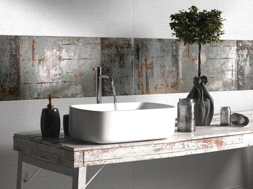 White-paste wall tiles STUCCO OXYD by CERAMICHE BRENNERO