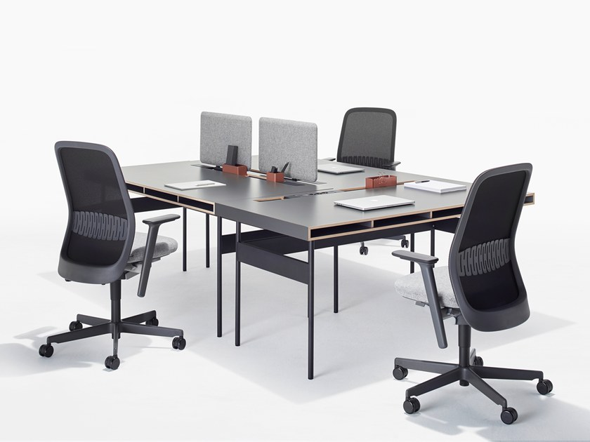 Sectional office desk STUDIO Desk - FACT by BENE