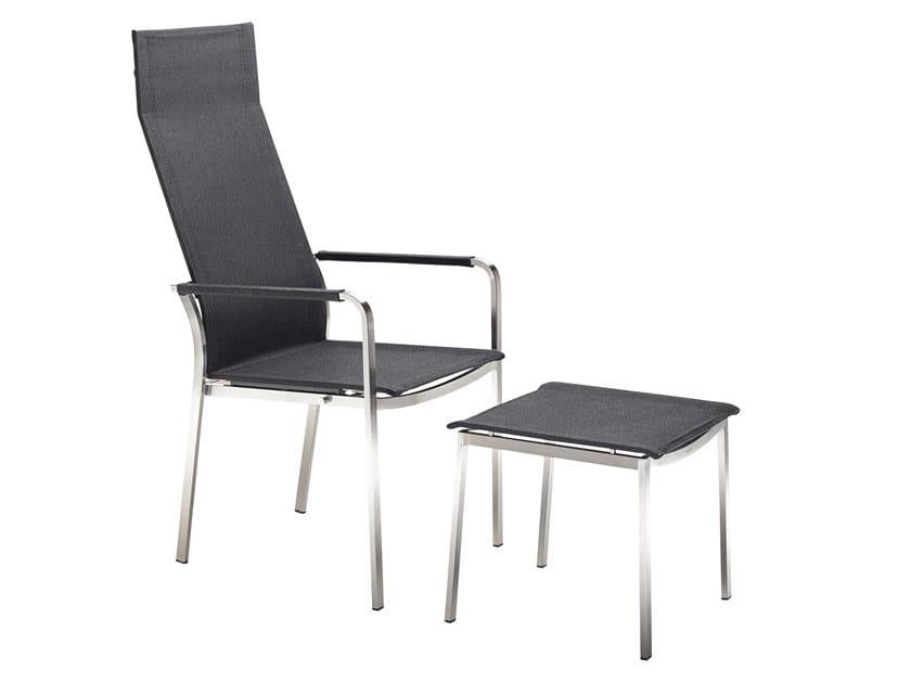 Studio sedia con schienale alto collezione studio by solpuri