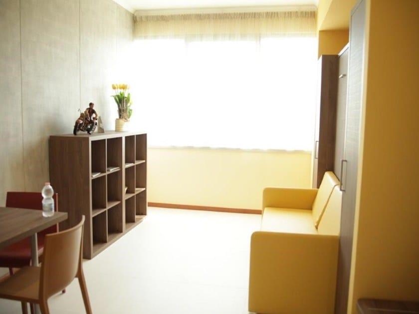 Contemporary style Hotel bedroom STUDIO NOCE GESSATO by Mobilspazio