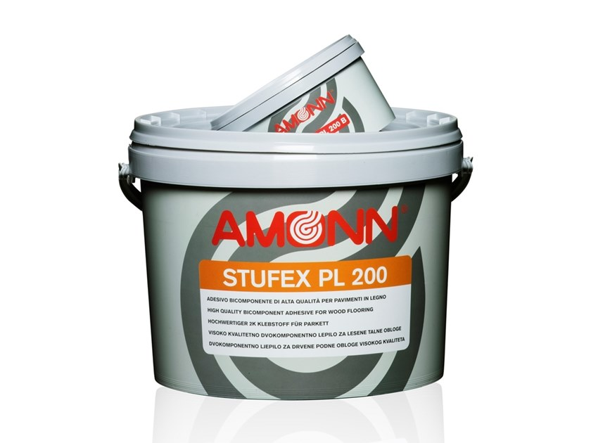 High quality dual-component for wood flooring STUFEX PL 200 by J.F. AMONN