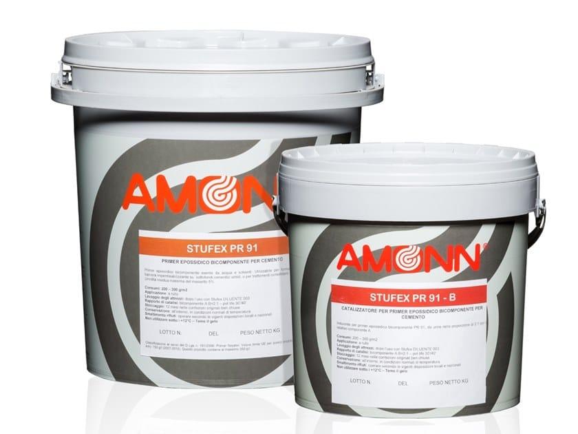 Dual-component epoxy primer for concrete STUFEX PR 91 by J.F. AMONN