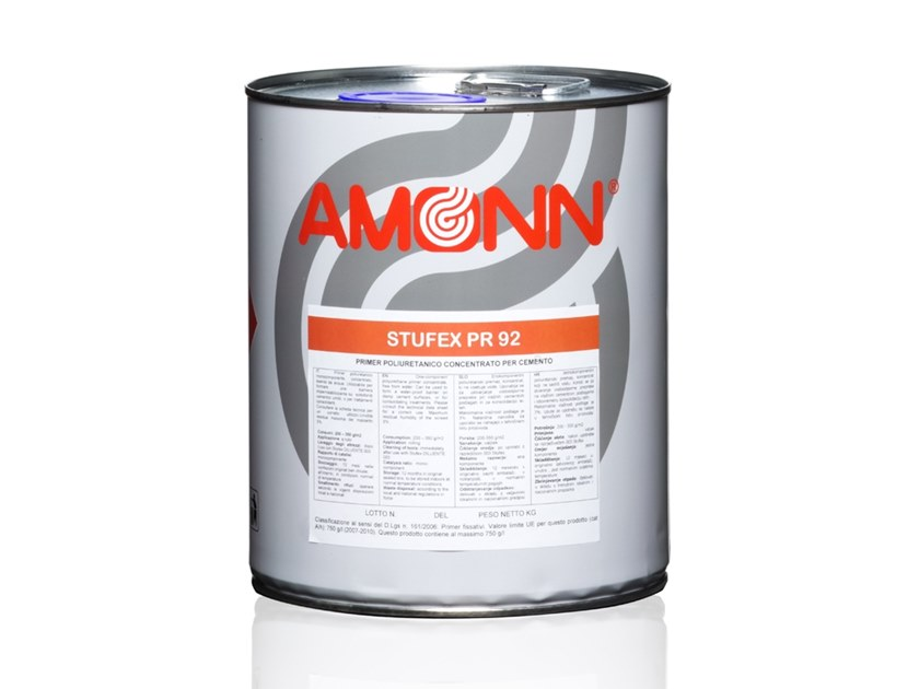 Concentrated polyurethane primer for concrete STUFEX PR 92 by J.F. AMONN