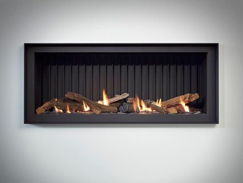 Gas built-in steel fireplace STÛV B-100 PB by Stûv