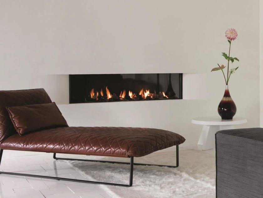 Contemporary style steel fireplace STÛV B-150 by Stûv