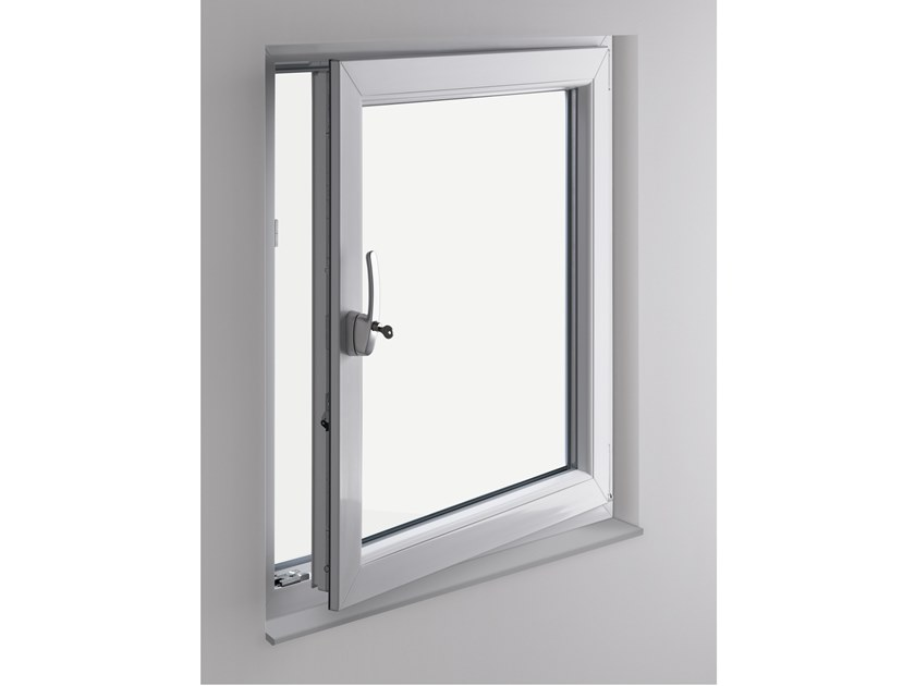 PVC security window STYLE70 RC2 by PIVA GROUP
