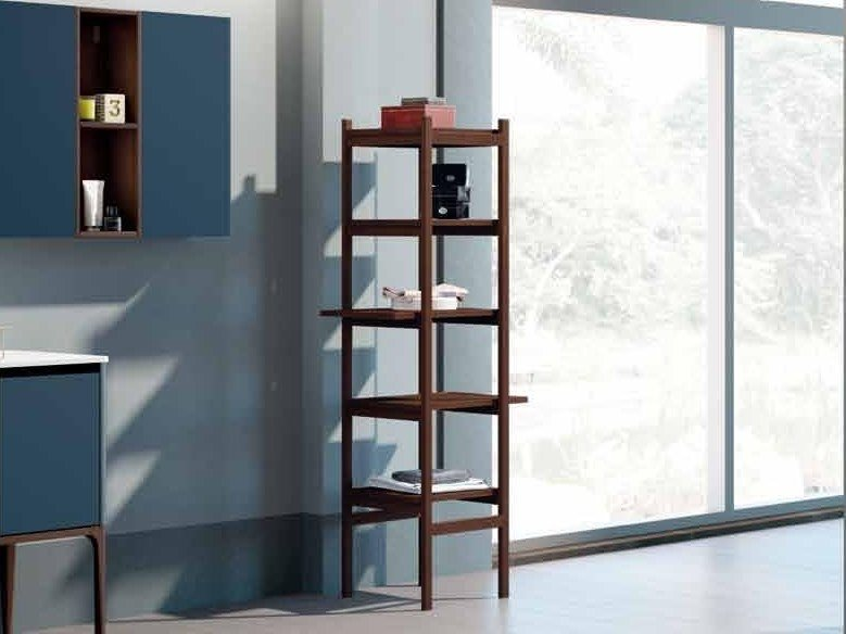 Tall open ash bathroom cabinet SU16 | Bathroom cabinet by Mobiltesino